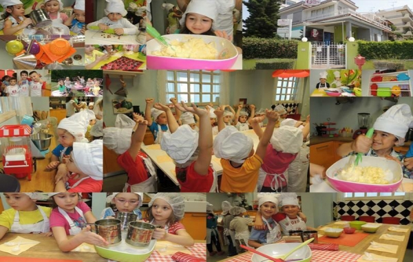Kids Cooking Summer Camp 2015